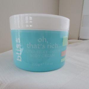 Bliss Oh, That's Rich Ultra Silky-Sheen Body Cream